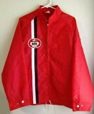 カナダ製Avon sportswearマックトラックMACKTRUCKナイロンコーチジャケットXL【M-8455】【送料無料】