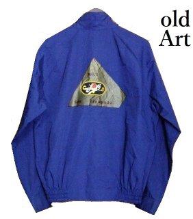 ビンテージフリーメイソンピラミッドスイングトップ刺繍ジャケットブルゾンXL【M-3601】【中古】【送料無料】