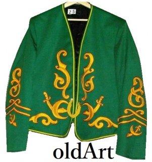 貴重ビンテージフリーメイソンシュライナーUSAfruhauf社製上質刺繍ジャケット衣装【M-10362】