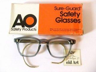 箱付きデッドストックヴィンテージAOアメリカンオプティカルウェリントン眼鏡44□20AmericanOptical【AO-10521】
