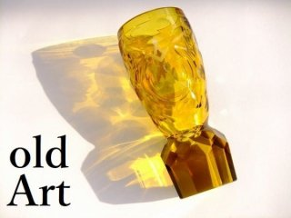 19世紀入手困難アンティークフリーメイソン神秘ガラス製グラスドイツ製【M-10554】
