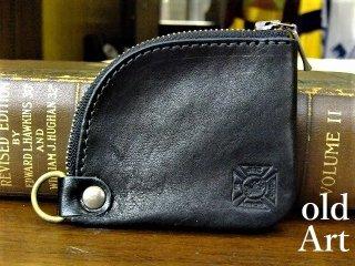 フリーメイソン牛本革コインケース小銭入れ財布【テンプル騎士団/ブラック】【M-10733】