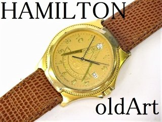 1971'sフリーメイソン会員限定ハミルトンHAMILTONダイヤモンドクォーツ式腕時計【M-10739】