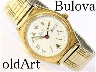 希少フリーメイソンシュラインBULOVAブローバクォーツ式オフィシャル腕時計【M-10742】