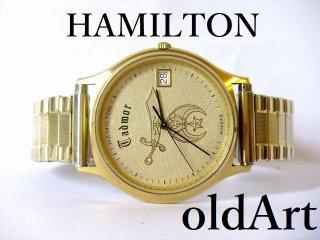 フリーメイソンシュライナー会員限定ハミルトンHAMILTONクォーツ式腕時計【M-10834】