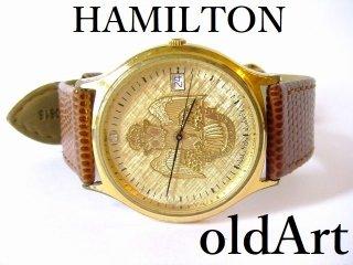 フリーメイソンスコティッシュライト会員限定33最高階位ハミルトンHAMILTONクォーツ式腕時計【M-10835】