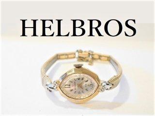 HELBROSヘルブロス手巻き式レディース腕時計アンティークウォッチ【M-10861】