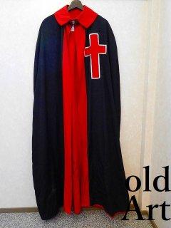 ヴィンテージフリーメイソンスコティッシュライト本物十字架クロス衣装マントコスチューム【M-10951】