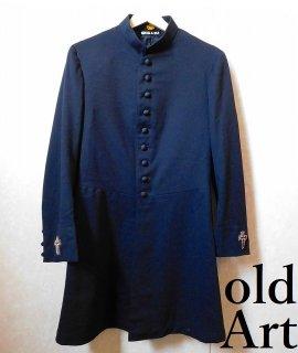 1920年代アンティーク当時物フリーメイソンテンプル騎士団本物の刺繍ジャケット十字架クロスロングコート衣装中世コスチューム【M-10958】