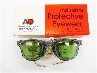 箱付きデッドストックヴィンテージAOアメリカンオプティカルウェリントンサングラス眼鏡46□24AmericanOptical【AO-11109】