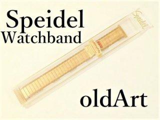 デッドストックヴィンテージ1950年代USA製Speidel社10KGF金張り腕時計蛇腹高級ウォッチベルト18mm【M-11192】