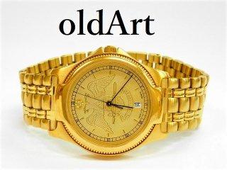 ビンテージ1970年代フリーメイソン32階位ハミルトンHAMILTON会員限定クォーツ式腕時計【M-11260】