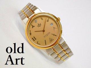 フリーメイソンWITTNAUERウィットナープロビデンスの目クォーツ式腕時計【M-11584】
