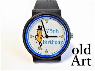 TIMEXタイメックスミスターピーナッツ75周年アニバーサリー記念品腕時計クォーツ式Mr.PEANUTS【M-11665】
