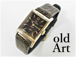 アンティークWITTNAURウィットナー手巻き式メンズ腕時計【M-11667】