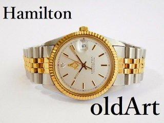 フリーメイソン会員限定ハミルトンHAMILTONマスターピースクォーツ式腕時計【M-11829】