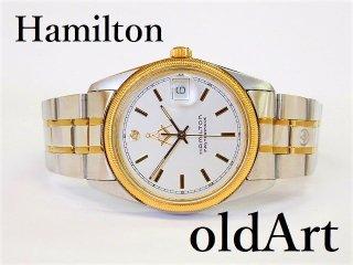 フリーメイソン会員限定ハミルトンHAMILTONダイヤモンドクォーツ式腕時計【M-11978】