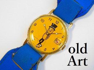 ヴィンテージプランターズ社Mr.PEANUTミスターピーナッツSWISS製手巻き式腕時計【M-11871】
