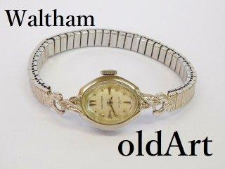 ビンテージ1940-60年代WALTHAMウォルサム手巻き式レディース腕時計ドレスウォッチアンティーク17石【M-11990】