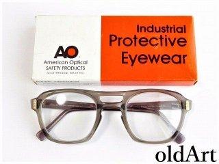 箱付きデッドストックヴィンテージAOアメリカンオプティカルツートーン眼鏡52□24AmericanOptical【AO-12019】