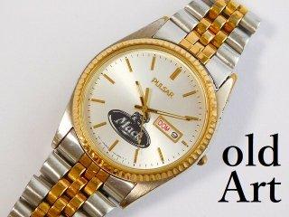 マックトラックPULSARパルサーSEIKOクォーツ式MACK TRUCKオフィシャル腕時計【M-12099】