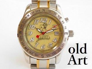 マックトラックMACK TRUCKオフィシャル100周年記念FOSSILメンズクォーツ式腕時計バックライト付き【M-12168】