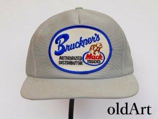 USA製ビンテージMACKTRUCKマックトラックブルドッグオフィシャル刺繍ワッペンメンズキャップ帽子【M-12166】
