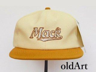 USA製ビンテージMACKTRUCKマックトラックブルドッグオフィシャル刺繍メンズキャップ帽子【M-12167】