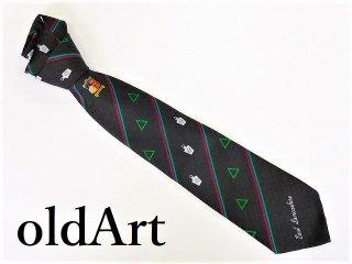 英国製イギリスフリーメイソンオフィシャル総柄刺繍ネクタイ新品未使用品【M-10293】