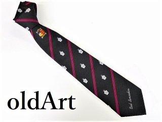 英国製イギリスフリーメイソンオフィシャル総柄刺繍ネクタイ新品未使用品【M-10292】
