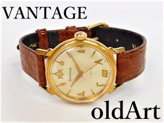 ヴィンテージ1970年代フリーメイソンハミルトンVANTAGE手巻き式メンズ腕時計【M-12195】