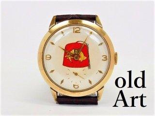 スイス製ビンテージフリーメイソンシュライナーフェズハット手巻き式メンズ腕時計【M-12200】