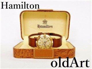 箱付き1956年代ハミルトンフリーメイソン会員限定自動巻きヴィンテージメンズ腕時計HAMILTON【M-12199】