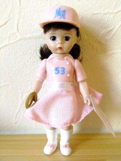 マクドナルド×マダムアレクサンダーハッピーミールウェンディドール人形【野球女の子】【M-10951】