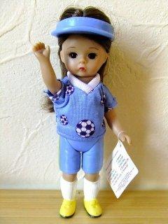 マクドナルド×マダムアレクサンダーハッピーミールウェンディドール人形【サッカー女の子】【M-10954】