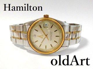 フリーメイソン会員限定ハミルトンHAMILTONマスターピースダイヤモンドクォーツ式腕時計【M-12476】