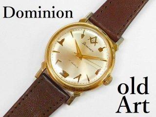 ヴィンテージ1970年代フリーメイソンDominion手巻き式メンズウォッチ腕時計【M-12353】