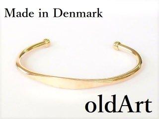 北欧アンティーク1960年代デンマーク製デザイナーHenning Ulrichsenシルバー銀製ブレスレット【M-12569】