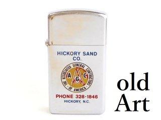 ヴィンテージ1985年Associated General Contractors of AmericaジッポZIPPOオイルライター【M-10511】