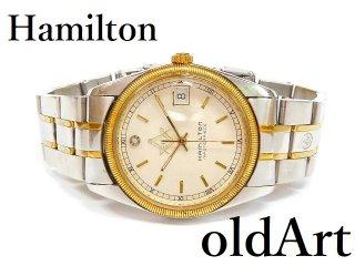 フリーメイソン会員限定ハミルトンHAMILTONマスターピースダイヤモンドクォーツ式メンズ腕時計【M-12766】