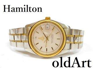 フリーメイソン会員限定ハミルトンHAMILTONマスターピースダイヤモンドクォーツ式メンズ腕時計【M-12767】