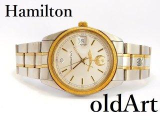 フリーメイソンシュライナー会員限定ハミルトンHAMILTONマスターピースダイヤモンドクォーツ式メンズ腕時計【M-12765】