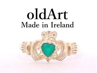 アイルランド製SOLVAR社伝統的な指輪クラダリングスターリングシルバー製13.2号ホールマーク刻印【M-13216】