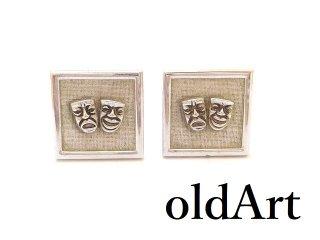 USA製ヴィンテージ1950-60年代ツーフェイスTWOFACE泣き笑いカフスロカビリー【M-13491】