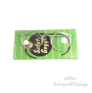 AmericanOpticalアメリカンオプティカルFUL-VUEヴィンテージ30'sメガネ眼鏡46ー24 Silvercolor【N-20095】