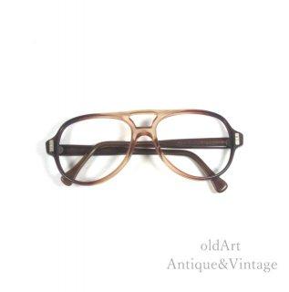 AmericanOpticalアメリカンオプティカルヴィンテージFLEXI-FITメガネ眼鏡5 1/2 54ー22【N-20096】