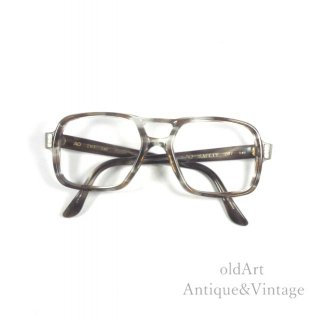 AmericanOpticalアメリカンオプティカルヴィンテージSAFETYメガネ眼鏡52ー24【N-20098】