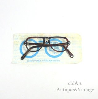 TartOpticalタートオプティカルヴィンテージDoubleBridge Aviator50'sメガネ眼鏡38ー14【N-20101】
