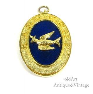 英国イギリス製ヴィンテージフリーメイソンロッジ意匠メダルジュエルペンダント【N-20505】
