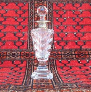 USA1913'sアンティークガラス製香水瓶オブジェ【N-20615】